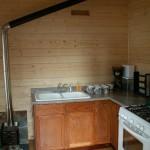 Eshamy Bay Lodge Cook House Kitchen