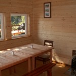 Eshamy Bay Lodge Cook House Seating