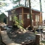 Eshamy Bay Rental Cabins Bathhouse