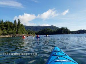 Kayaking Alaska.