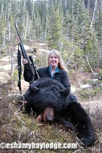 Hunt Black Bear in Alaska's Prince William Sound